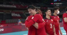 Tokio. Siatkówka. Japonia pokonuje Iran 3:2