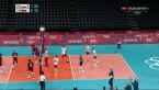 Tokio. Polska wygrała drugiego seta w starciu z Wenezuelą w turnieju siatkarzy