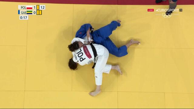 Tokio. Judo. Pacut awansowała do 1/8 finału w kategorii do 78 kg kobiet