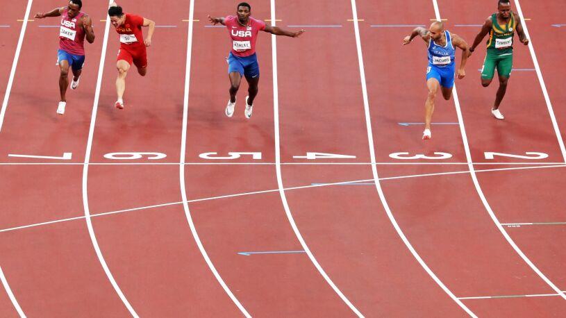 Włoch królem sprintu w Tokio. Ma złoto, a na dodatek nowy rekord Europy