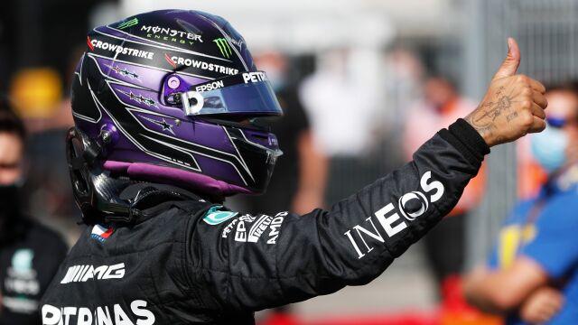 Pole position Hamiltona przed GP Węgier
