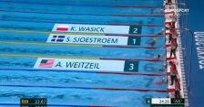 Tokio. Występy Wasick, Czerniaka i Juroszka w eliminacjach 50 m stylem dowolnym