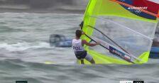 Tokio. Myszka zajął 9. miejsce w dziesiątym wyścigu w windsurfingowej klasie RS:X