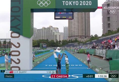 Tokio. Złoty medal w triathlonie kobiet zdobyła Flora Duffy