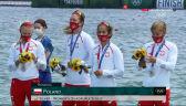 Tokio. Polska osada czwórki podwójnej kobiet odebrała srebrne medale