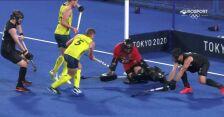 Tokio. Nowozelandczycy strzelili 4. gola w meczu z Australią w hokeju na trawie