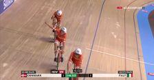 Duńczycy z rekordem świata w wyścigu drużynowym na dochodzenie w MŚ