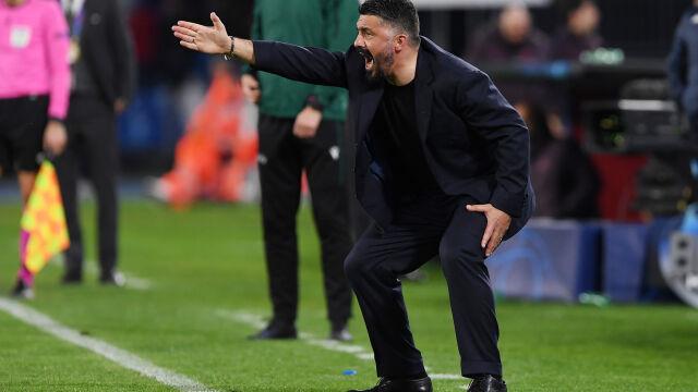 Trener Napoli: na rewanż z Barceloną kupimy hełmy i zbroje