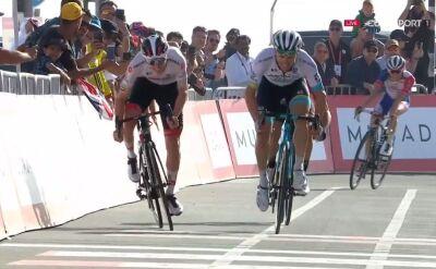 Najciekawsze momenty finałowego podjazdu na 5. etapie UAE Tour