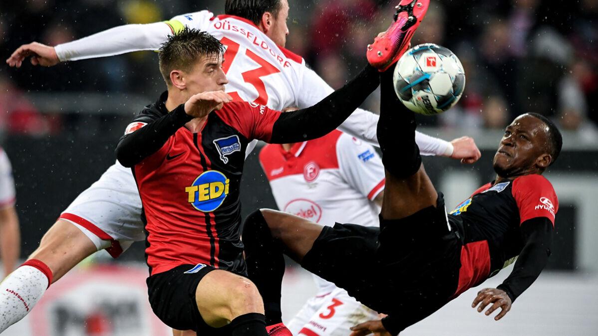 Piątek doczekał sięgola w Bundeslidze. Hertha wróciła z zaświatów