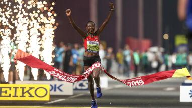Pierwsze złoto dla Kenii. Morderczego maratonu nie ukończyła co trzecia zawodniczka