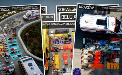 Polskie ekipy ratunkowe dołączyły do wyzwania Tetris Challenge