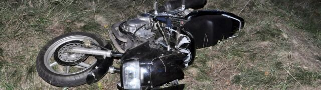 Motocyklista i jego pasażerka zginęli po zderzeniu z sarną