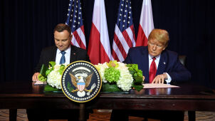 Poland and U.S. sign declaration increasing number of American troops in Poland