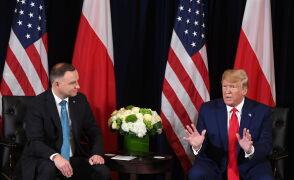 Trump zapowiedział wizytę w Polsce