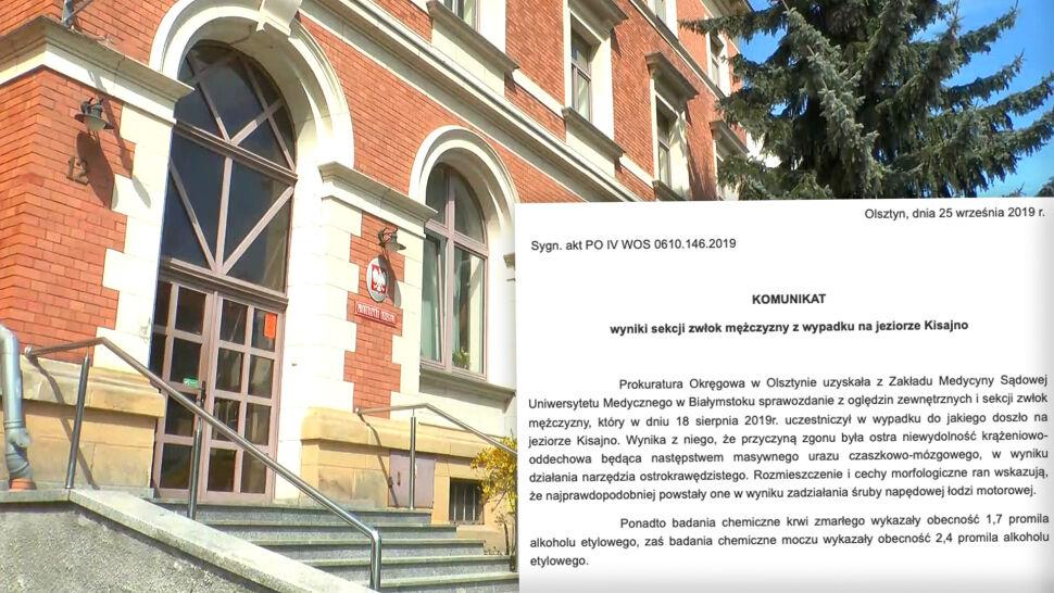Prokuratura podała przyczynę śmierci Piotra Woźniaka-Staraka