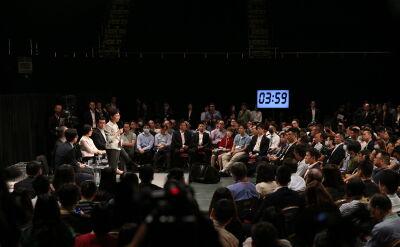 Szefowa władz Hongkongu spotkała się ze 150 mieszkańcami