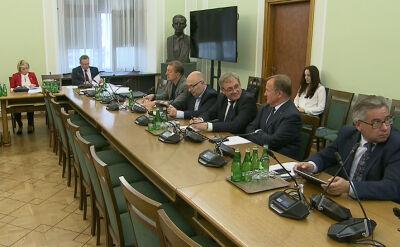 Głosowanie podczas komisji do spraw kontroli państwowej