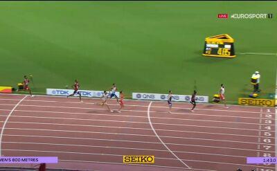 Kszczot odpadł w półfinale biegu na 800 m