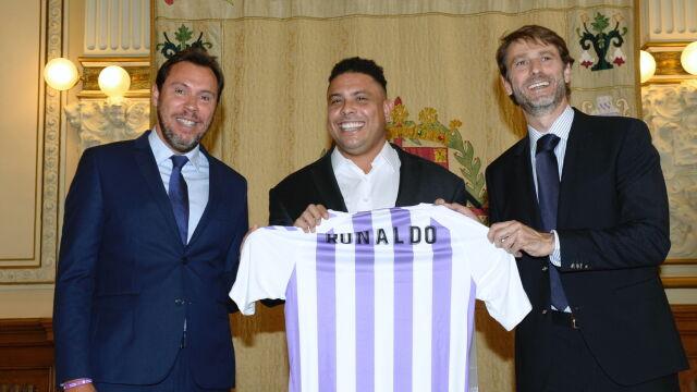 Pakiet większościowy Ronaldo. Brazylijczyk kupił sobie klub