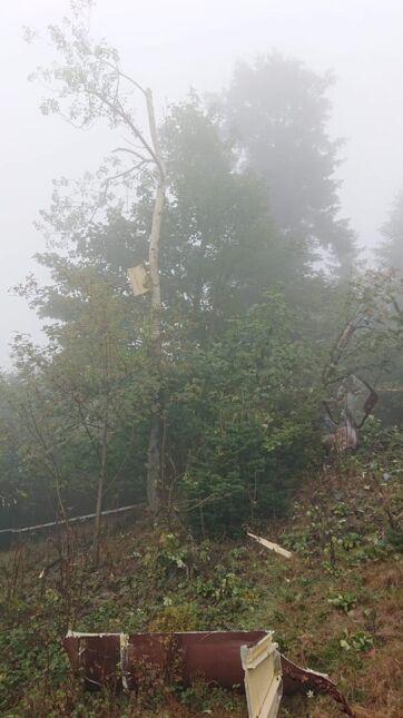 W miejscu wypadku panuje mgła