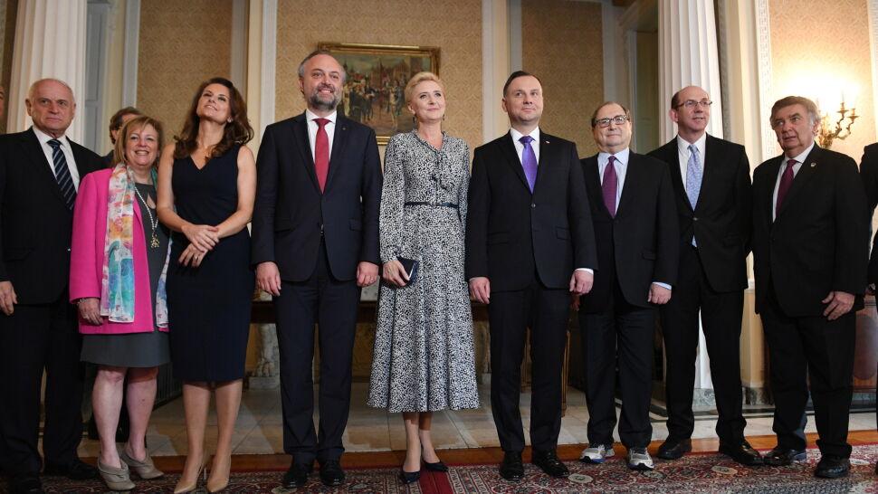 Para prezydencka spotkała się z organizacjami żydowskimi