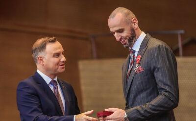 Marcin Gortat został odznaczony Krzyżem Oficerskim Orderu Odrodzenia Polski