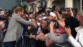 Książę Harry spotkał się z fanami