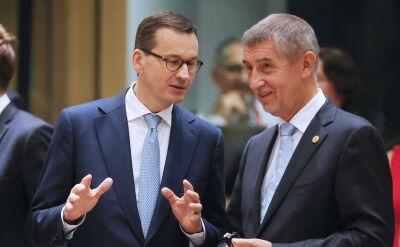 Morawiecki: Grupa Wyszehradzka trzymała się solidarnie