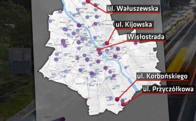 W Warszawie będzie można jeździć szybciej, ale w zamian powstanie odcinkowy pomiar prędkości