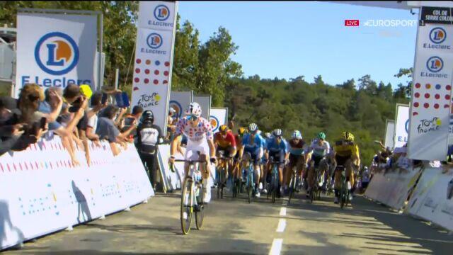 Cosnefroy wygrał premię górską na 5. etapie Tour de France