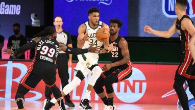 Giannis zawiódł. Bucks pokonani w pierwszym meczu półfinału
