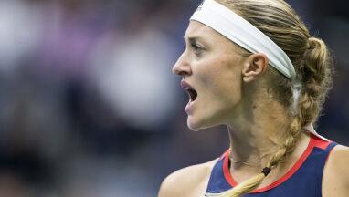 Zrozpaczona tenisistka.