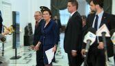 Premier Kopacz już w Sejmie