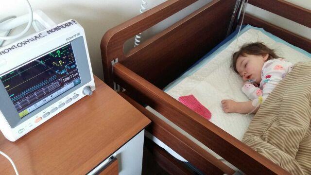 Pierwszy rok po wypadku Maja spędziła w szpitalu