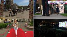 """""""Kraków wielkim kinem plenerowym"""". Wycieczka festiwalowym szlakiem"""