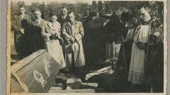 Pogrzeb Sama Sandiego na Cmentarzu Górczyńskim w Poznaniu. 1 maja 1937r.