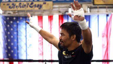 Manny Pacquiao wraca na ring. Zmiana rywala w ostatniej chwili
