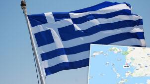 Grecka flaga zawisła na spornej wyspie. Turcy ją zdjęli i ostrzegają