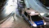 Pijany kierowca wjechał w policyjnego busa
