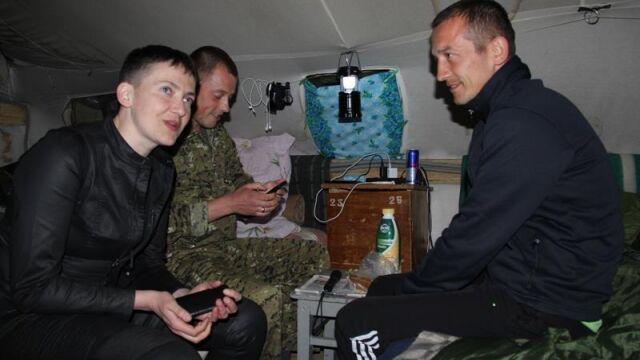 Sawczenko wróciła do Donbasu