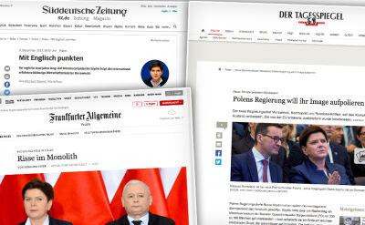 Niemieckie media o premierze Morawieckim
