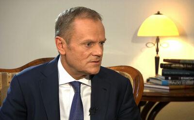 Tusk: skomplikowana sytuacja Polski w Unii Europejskiej nie jest zasługą premier Beaty Szydło