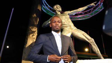 Bolt doczekał się pomnika.