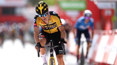 Roglicz wygrał kolejny etap Vuelta a Espana. Buduje przewagę nad najgroźniejszymi rywalami