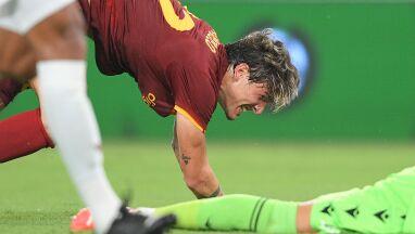 Piłkarz Romy popłakał się po golu.