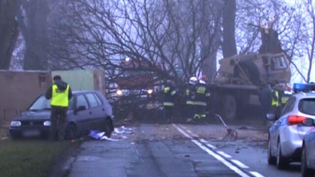 Kolejny wypadek amerykańskich żołnierzy. Auto musiało uciekać do rowu
