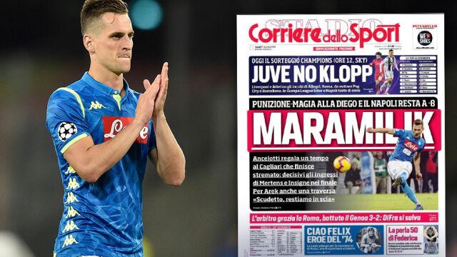 """""""MaraMilik"""". Włosi w Miliku zobaczyli Maradonę"""
