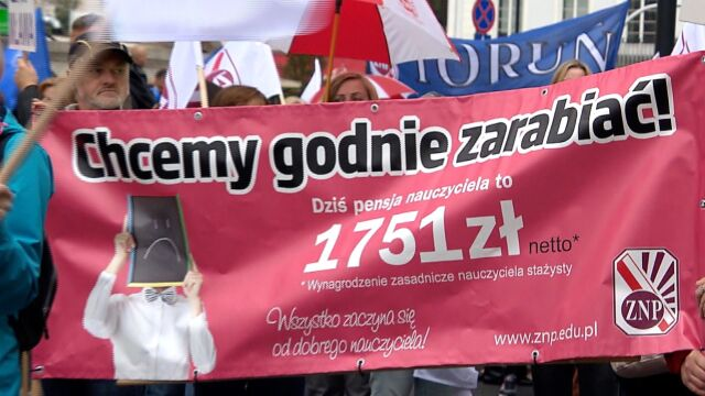 Nauczyciele zapowiadają strajk. Może się zacząć 8 kwietnia