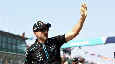 Robert Kubica zaniepokojony przed startem.